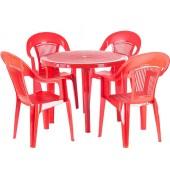 Пластиковая мебель для дачи