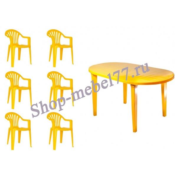 Пластиковая мебель для дачи - практично и удобно!