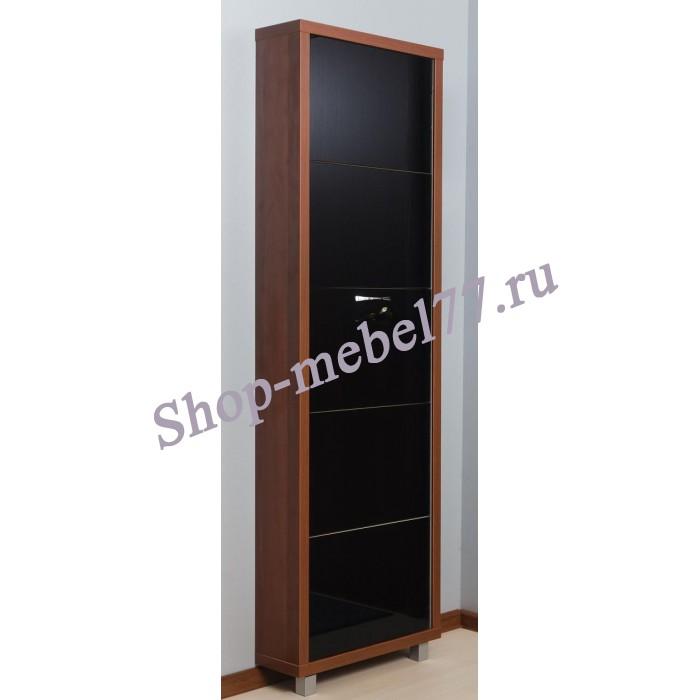 Шкаф обувной Люкс черное стекло - 5 секций