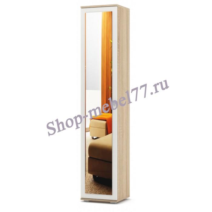 Шкаф Тунис-2 бельевой с зеркалом