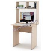 Письменный стол Лайт-1 с надстройкой
