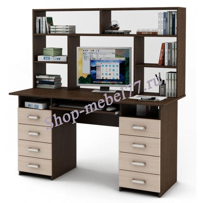 Письменный стол Лайт-9К с надстройкой