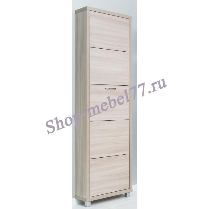 Шкаф обувной Люкс ЛДСП - 5 секций