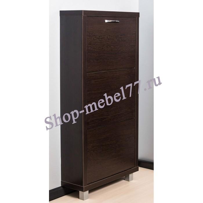 Шкаф обувной Люкс ЛДСП - 3 секции