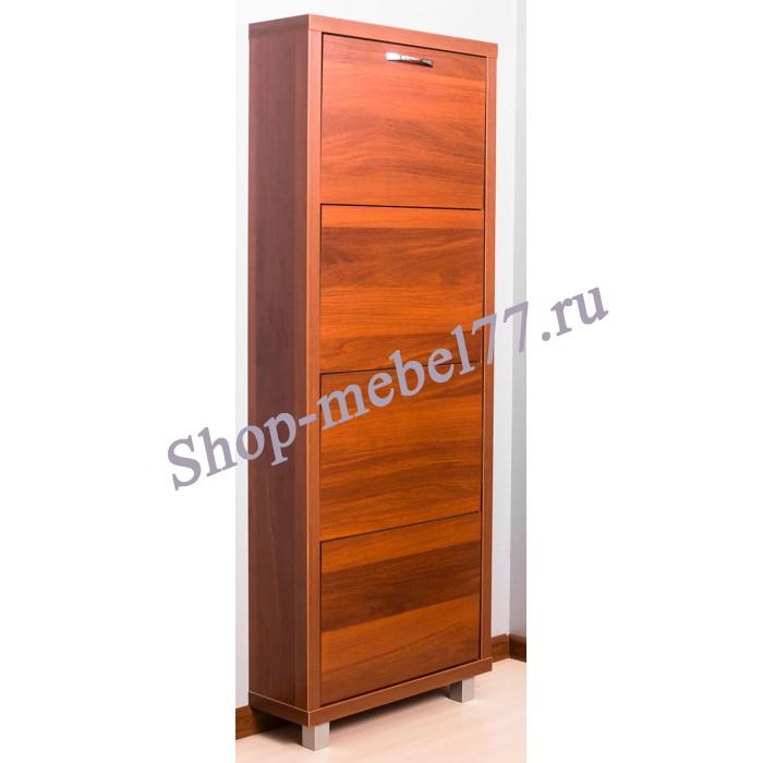 Шкаф обувной Люкс ЛДСП - 4 секции