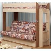 Кровать двухъярусная Немо (Архитектура) с матрасом