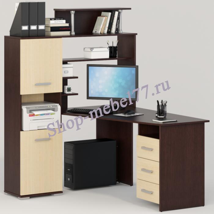 Стол компьютерный Вента-7 левый