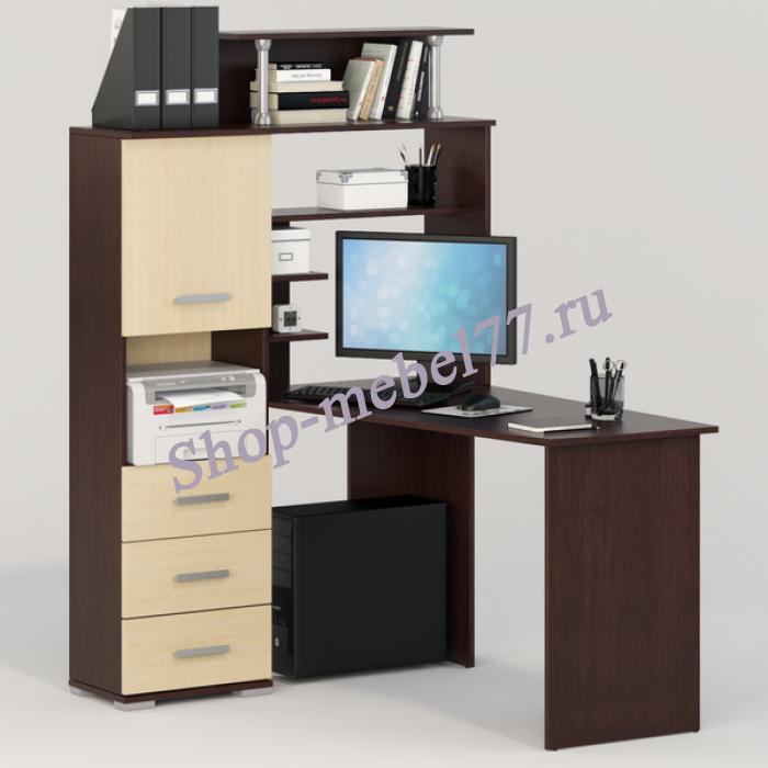 Компьютерный стол Вента-8 левый